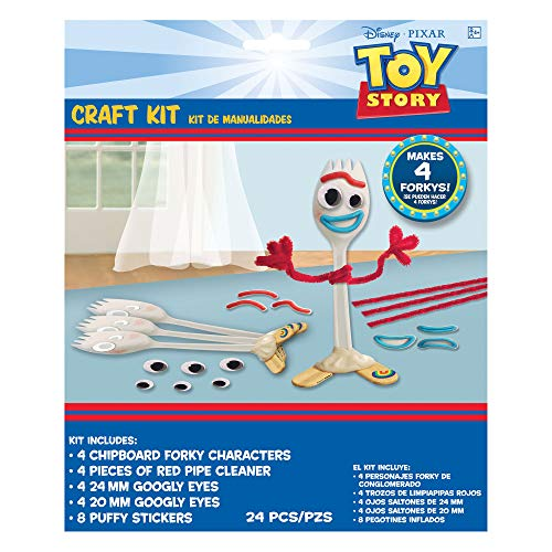 Toy Story 4 Craft Kit featuring Forky ()