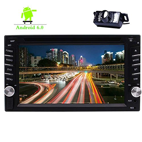 Wifi Bluetooth Mp3 - Double 2 Din Car DVD CD Player Capacitive 6.2