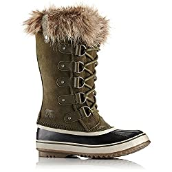 Sorel Women's 12 In. Joan Of Arctic Waterproof Boots, Noridark Stone Green 9