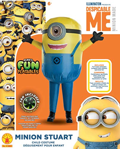 Despicable Me Minion Stuart Inflatable Child Costume - coolthings.us
