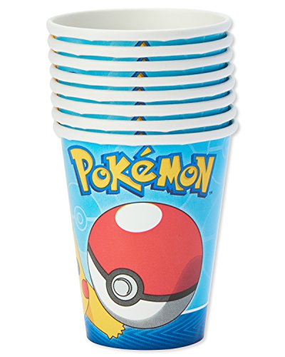 American Greetings Pokemon Paper Party Cups, 32-Count, Paper Cups by American Greetings (Image #2)