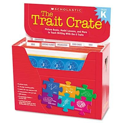 Scholastic - Trait Crate Kindergarten Six Books Learning Guide Cd More ''Product Category: Classroom Teaching & Learning Materials/Teacher's Aids & Manuals''