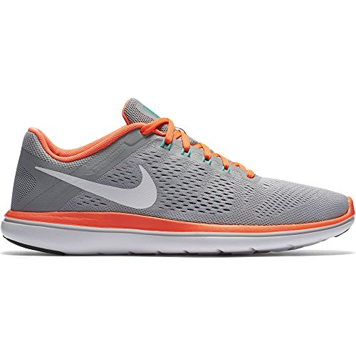 official photos 8d7a0 5ab49 Galleon - NIKE Women s Flex 2016 RN Running Shoe, Wolf Grey Hyper  Violet Concord White, 9 B(M) US