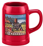 McCormick Deering Farmall F-20 20oz Mug Red with Tractor by Cornell