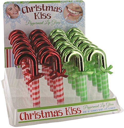 DD Christmas Candy Cane Lip Gloss(pack Of 48)
