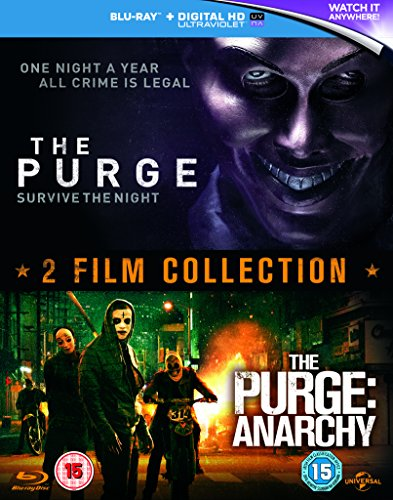 Purge/The Purge: Anarchy [Edizione: Regno Unito] [Italia] [Blu-ray]
