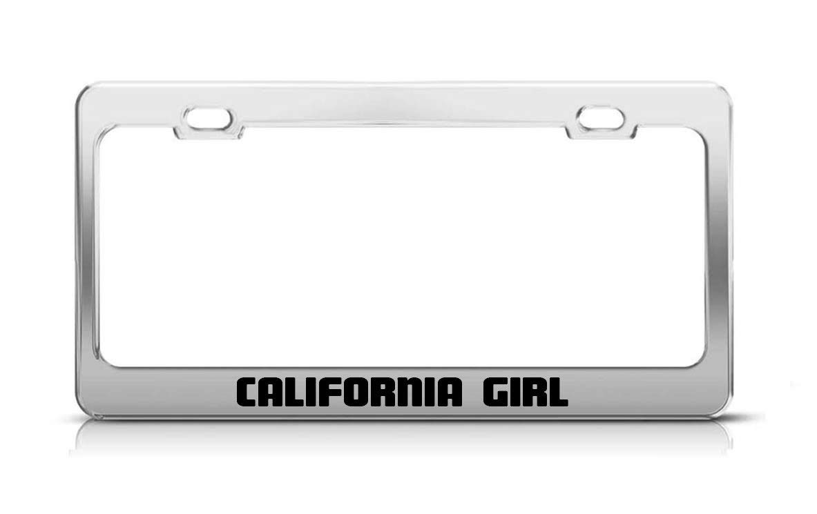 Rng Big 12x 6 Aluminum Metal License Plate Frame Humor License Plate Frame Cover Holder Car Tag Frame 2 Hole Screws