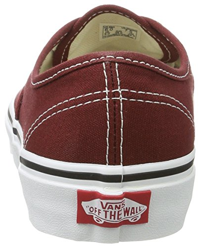 Vans Brown Authentic Madder White True 4rqY4wP