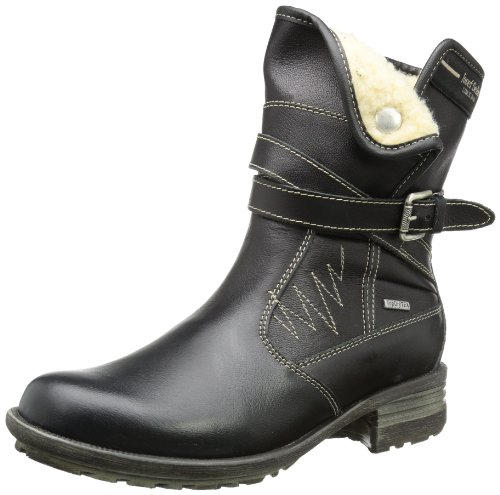 Josef Seibel Schuhfabrik GmbH Sandra 09 93752 PL838 600, Damen Biker Boots Schwarz (schwarz 600)