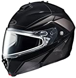 HJC IS-MAX2SN Elemental Modular Snow Helmet Frameless Dual Lens Shield (MC-5 Silver, Medium)