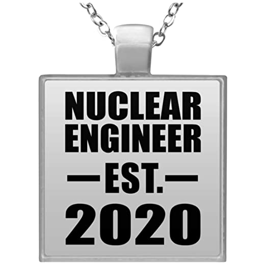 Nuclear Engineer Established EST. 2020 - Square Necklace ...