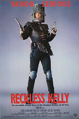 RECKLESS KELLY original 1993 ROLLED 27x41 one sheet movie poster YAHOO SERIOUS