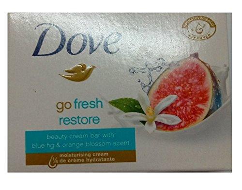 Dove Go Fresh Restore Beauty Bar Soap 100 Gr (Pack of 12)