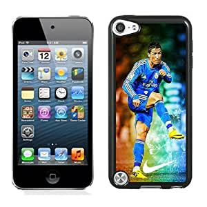 Unique DIY Designed Case For iPod Touch 5 5th With Soccer Player Cristiano Ronaldo 07 Phone Case