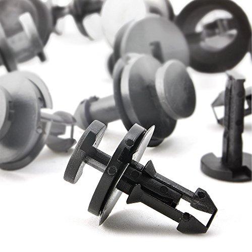AFA Tooling Replacement for GM Air Deflector Clip 15733971 [30 Pcs] - Stronger Than Original Nylon