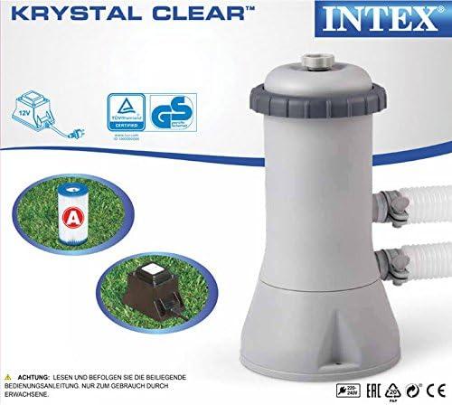 Intex 260x160x65 cm Frame Pool Set Family Filterpumpe 2827104