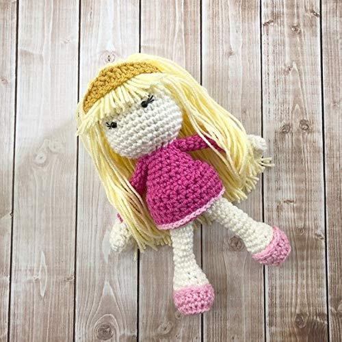 Sleeping Beauty Aurora Inspired Doll// Princess Plush Doll// Stuffed Toy Doll// Soft Toy Doll// Amigurumi Doll