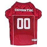 Pets First Collegiate Alabama Crimson Tide Dog Mesh Jersey, Large