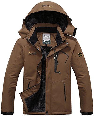 Jacket Jacket Working Neve Campeggio Impermeabile Pesca Caffè Mountain Windbreaker Windbreaker Outdoor Coat Uomo Sportwear Sci Vello Giacche con Mochoose Caccia Rain Cappuccio da SUBAqHwY