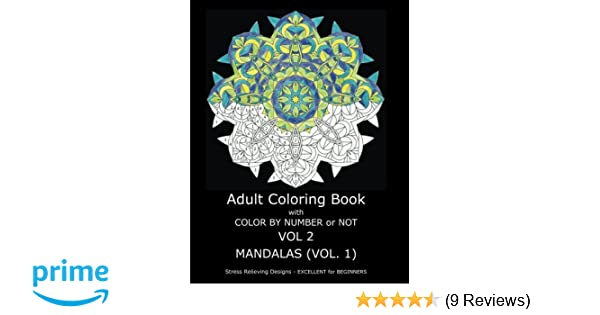 Amazon Adult Coloring Book With Color By Number Or Not