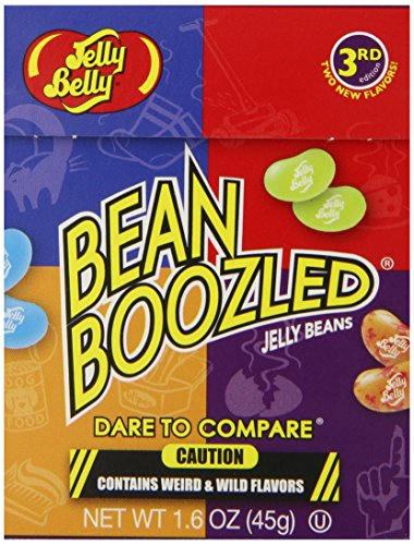 Jelly Belly - BEAN BOOZLED Jelly Belly Beans 1.6 oz - 3 Pack