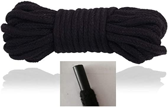 Purple Cotton Rope 2 Ropes 10M 32Ft Extra Long Premium Cotton Rope No Fraying for Crafting DIY