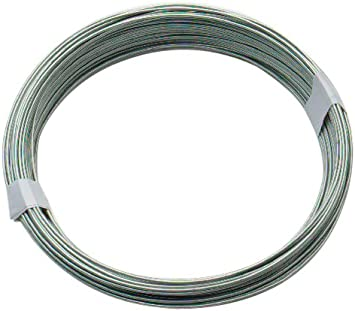 2mm EXTRA THICK HEAVY DUTY Garden Fencing Wire Cord CUT TO SIZE 10m Plant Tie