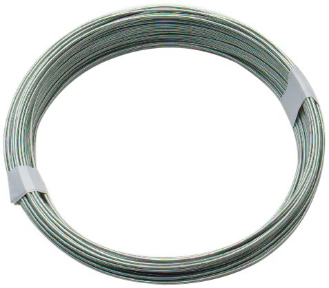 Bulk hardware bh00325 galvanised coated garden wire 125mm x 50 bulk hardware bh00324 galvanised coated garden wire 1mm x 80 metres 260ft 18 keyboard keysfo Image collections