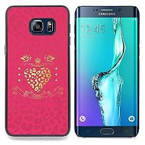 - Leopard Gold Heart Pink Glitter Shiny - - Monedero pared Design Premium cuero del tir???¡¯???€????€???????????