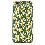 Avocado Pattern Plastic Phone Case for Iphone 6 6s_ SUPERTRAMPshop (VAS301)