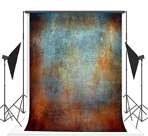 Neutral Photography Backdrop - 5x7ft (150x220cm) Retro Wall Photography Backdrop Neutral Digital Printing No Wrinkles Photo Studio Background Vintage Backdrops