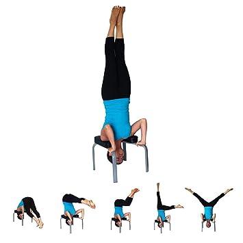 YYHOUS Silla Inversión Yoga Soporte La Cabeza Taburete ...