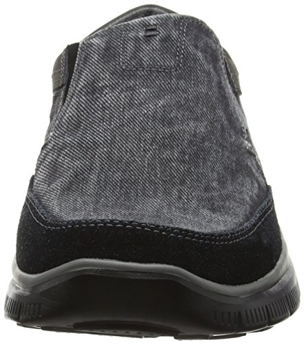 Skechers Usa Heren Hinton Olmos Slip-on Loafer Zwart
