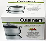 Cuisinart CFO-250WS 3 QUART ELECTRIC FONDUE SET