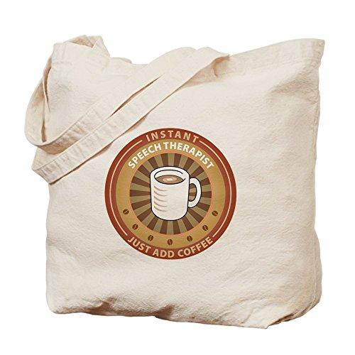 CafePress–Instant Speech terapeuta–Gamuza de bolsa de lona bolsa, bolsa de la compra