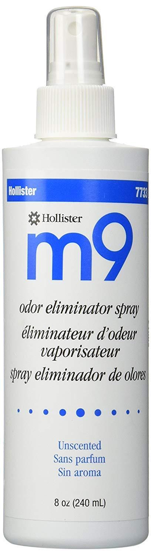 Hollister M9 Odor Eliminator Spray - 8 oz Unscented - Box of 6 - HOL7733_BX by Hollister