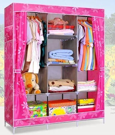 Generic New Portable Clothes Wardrobes Organizers Garment Closet Armoires 11 Colors Hot