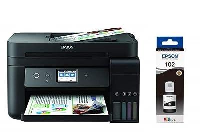 Epson EcoTank ET-4750 4800 x 1200DPI Inyección de tinta A4 33ppm Wifi - Impresora multifunción + Cartucho negro