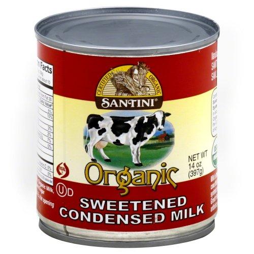 Organic Sweetnd Condensed Milk (Pack of 24) by Santini