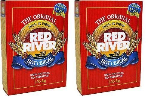 Red River Hot Cereal, 1.35 Kilograms/47.6 Ounces - 2 Pack by Red River