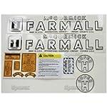Farmall Super H Decal Kit
