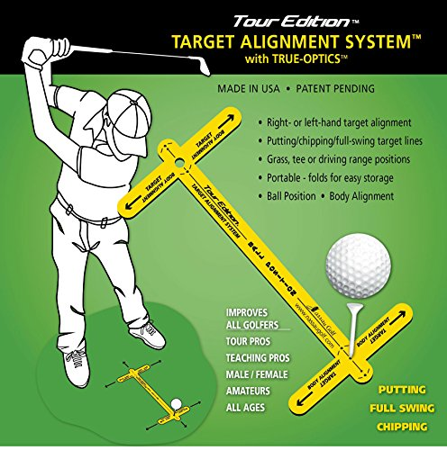 (Tour Edition Target Alignment training aids device for)