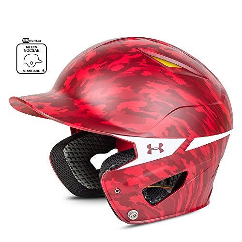 Digi Camo Red - Under Armour Converge Batting Helmet - Digi Camo, RED