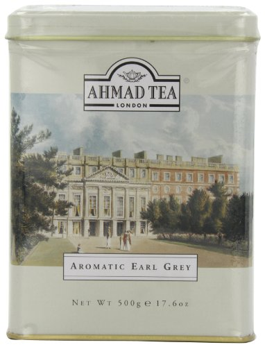 Ahmad Tea Aromatic Earl Grey, 17.6-Ounce Tins (Pack of 3)