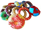 Handmade Nepalese Tibetan Rings for Singing Bowls SMALL
