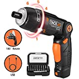 Best Cordless Screwdrivers - Electric Cordless Screwdriver Rechargeable 6 Torque Setting LED Review