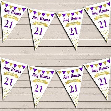 Guirnalda de banderines de cumpleaños para cumpleaños de 18 ...