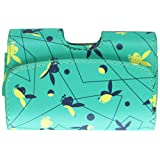 Reiko Leather Pouch for Protective Carrying Cell Phone Case - Retail Packaging - Playboy Light Green