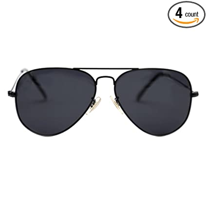 66c44ced48 Natwve Co Aviator Sunglasses Womens Mens Polarized Lens with Case - UV 400  Protection 58MM (Black