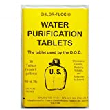 G.I. Issue Water Pure Tablets